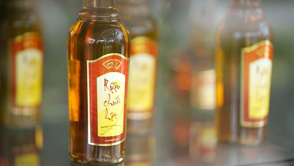 Công dụng của rượu Chuối Hột