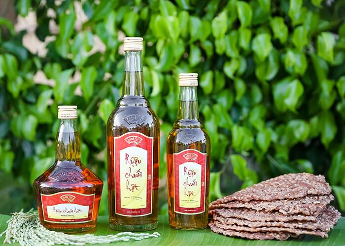rượu chuối hột Phú Lễ lừng danh trăm năm nay